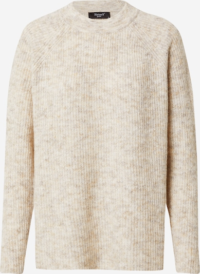 SISTERS POINT Pullover 'LUI' in beige, Produktansicht