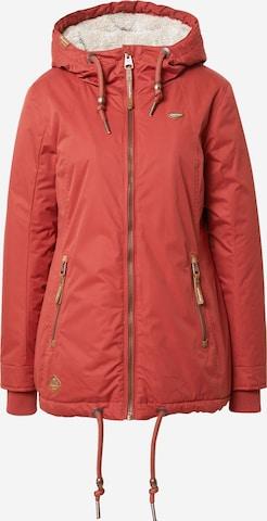 raudona Ragwear Žieminė striukė 'ZUZKA'