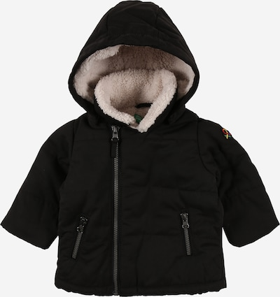 UNITED COLORS OF BENETTON Winterjacke in schwarz, Produktansicht
