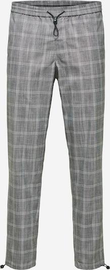 SELECTED HOMME Hose in grau / hellgrau, Produktansicht