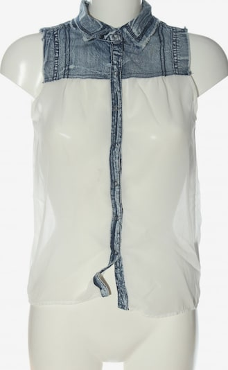 Silvian Heach Blusentop in XXS in blau / wollweiß, Produktansicht