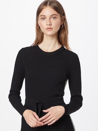 MICHAEL Michael Kors Pullover in schwarz / weiß, Modelansicht
