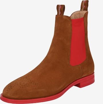 Crickit Chelsea Boot 'Feline' in Braun