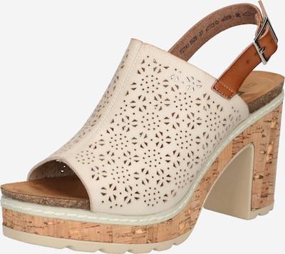 Refresh Sandalias en marrón claro / gris claro, Vista del producto