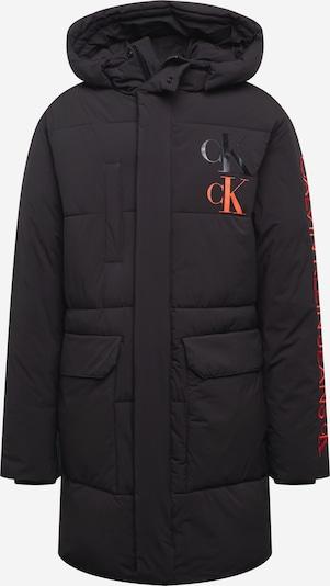 Calvin Klein Jeans Tussenjas in de kleur Watermeloen rood / Zwart gemêleerd, Productweergave