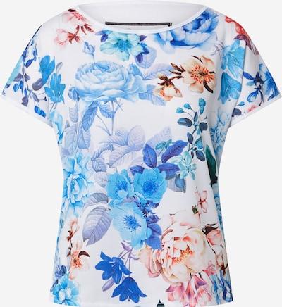 PRINCESS GOES HOLLYWOOD Shirt in blau / orange / rot / weiß, Produktansicht