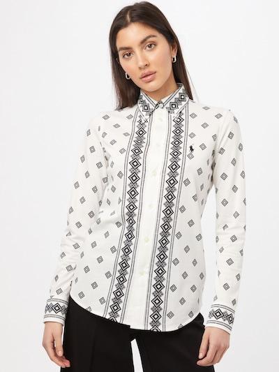 Bluză 'HEIDI' Polo Ralph Lauren pe gri / negru / alb natural, Vizualizare model