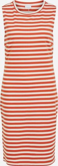 VILA Kleid 'TINNY' in rostbraun / weiß, Produktansicht