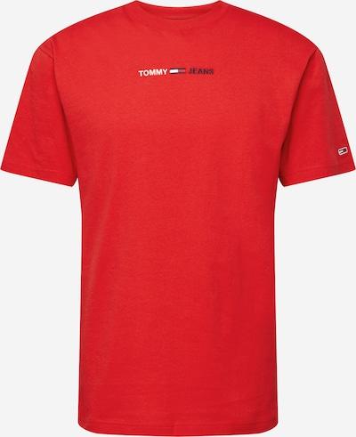Tommy Jeans Majica | nočno modra / rdeča / bela barva, Prikaz izdelka