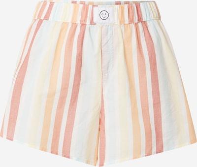HOLLISTER Spodnie od piżamy w kolorze jasnożółty / miętowy / pastelowy pomarańczowy / jasnoczerwony / białym, Podgląd produktu