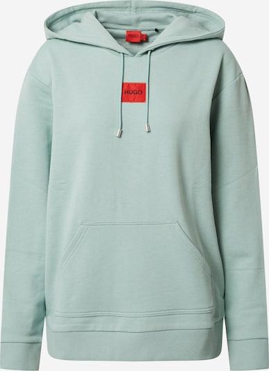 HUGO Sweatshirt 'Dasara' in mint / rot, Produktansicht