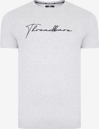 Threadbare Shirt in grau / schwarz, Produktansicht