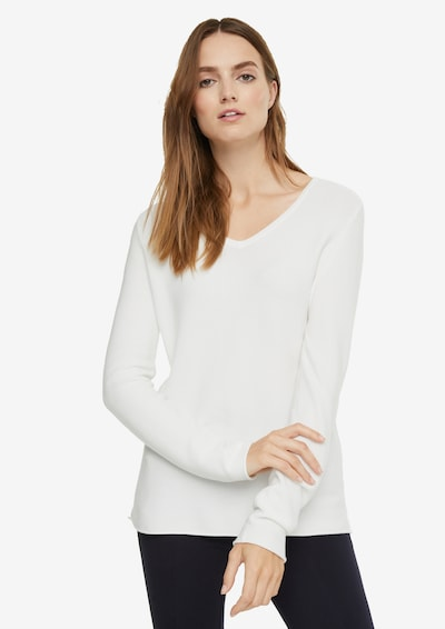 Ci comma casual identity Pullover in offwhite, Modelansicht