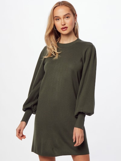 InWear Knitted dress 'Sammy' in Olive, View model