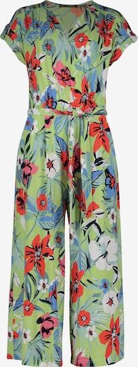 Betty Barclay Jumpsuit in rauchblau / hellgrün / rot, Produktansicht