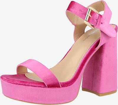 Sandale GLAMOROUS pe roz, Vizualizare produs