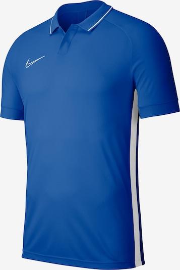 NIKE Poloshirt 'Academy 19' in himmelblau / weiß, Produktansicht