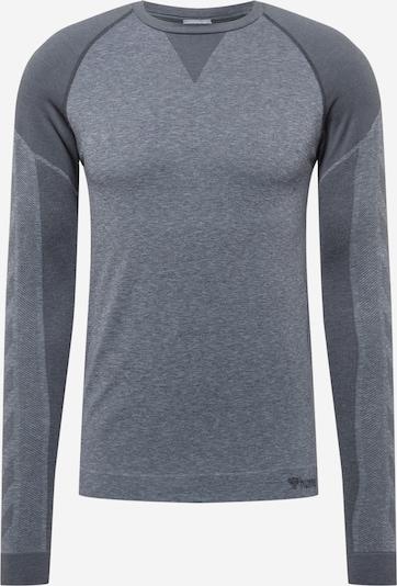 Hummel T-Shirt fonctionnel 'KENT' en gris foncé / gris chiné, Vue avec produit