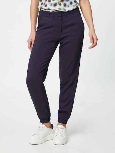 s.Oliver BLACK LABEL Pantalon en bleu marine, Vue avec modèle
