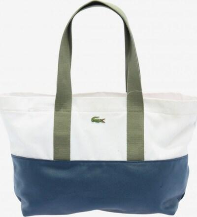 LACOSTE Shopper in One Size in blau / grün / weiß, Produktansicht