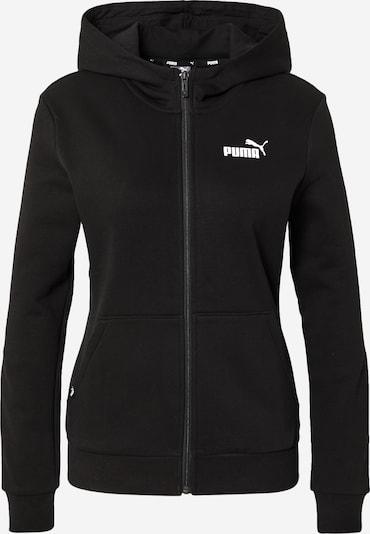 PUMA Zip-Up Hoodie 'Power' in Black / White, Item view