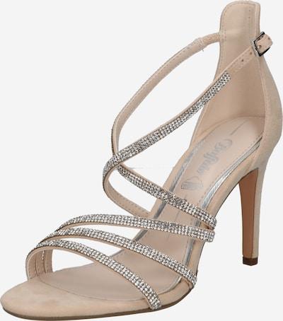 BUFFALO Sandal 'MAKAI 2' i beige / silver, Produktvy