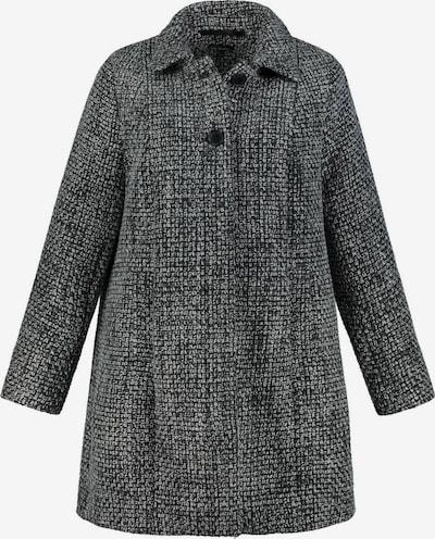 Ulla Popken Prechodný kabát - čierna / biela, Produkt