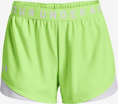UNDER ARMOUR Sportshorts 'Play Up 3.0' in hellgrün / weiß, Produktansicht