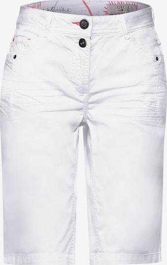 CECIL Pantalón en blanco, Vista del producto