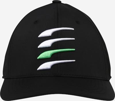PUMA Sportcap in grün / schwarz / weiß, Produktansicht