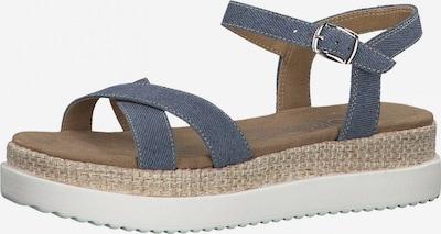 Sandale cu baretă s.Oliver pe albastru denim, Vizualizare produs