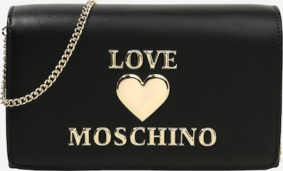 Geantă de umăr Love Moschino pe auriu / negru, Vizualizare produs