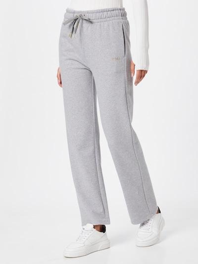 BOSS Casual Kalhoty 'Emayla' - stříbrně šedá, Model/ka