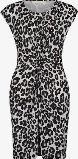 Betty & Co Kleid in rauchgrau / schwarz / weiß, Produktansicht