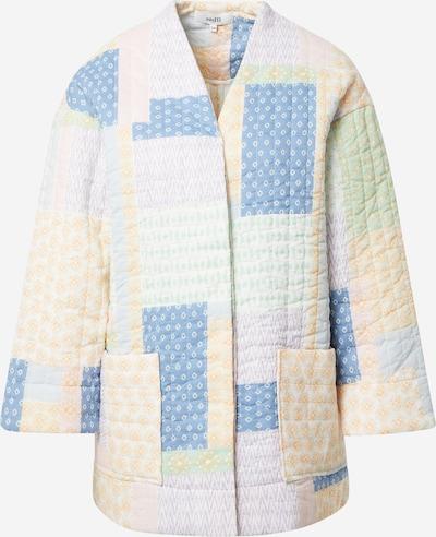 mbym Overgangsjakke 'Winslet' i blå / lyselilla / laks / hvid, Produktvisning
