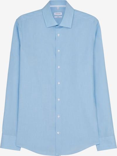 SEIDENSTICKER Zakelijk overhemd in de kleur Blauw / Wit, Productweergave