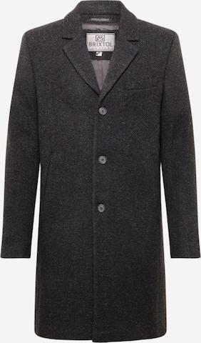 Cappotto di mezza stagione 'Ian' di Brixtol Textiles in nero