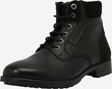 JACK & JONES Lace-Up Boots 'BURGESS' in Grey