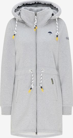 Schmuddelwedda Zip-Up Hoodie in mottled grey, Item view