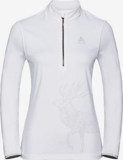 ODLO Sweatshirt 'Trafoi' in schwarz / weiß, Produktansicht
