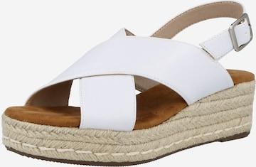ABOUT YOU Sandaler 'Mona' i hvit