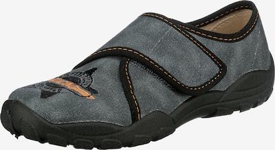 ELEFANTEN Pantofle 'Pan Prisco' - tmavě šedá / jasně oranžová / černá, Produkt