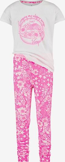 VINGINO Schlafanzug 'Winner' in pink / weiß, Produktansicht