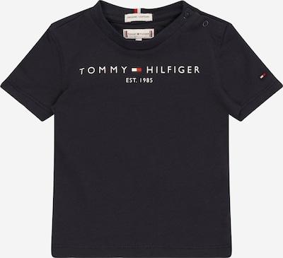 TOMMY HILFIGER Koszulka w kolorze szarobeżowy / granatowy / jasnoczerwony / białym, Podgląd produktu