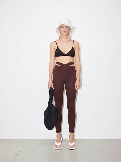 LeGer by Lena Gercke Leggings 'Jaden' in braun, Modelansicht
