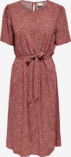 JDY Kleid 'STAAR' in rosa / rot / schwarz / weiß, Produktansicht