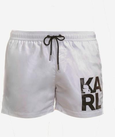 Karl Lagerfeld Badehose in weiß, Produktansicht