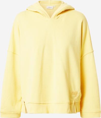 ONLY Sudadera 'ENJA' en amarillo pastel, Vista del producto