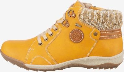 Relife Stiefeletten in gelb, Produktansicht