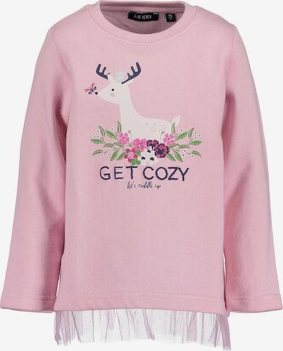 BLUE SEVEN Sweatshirt in mischfarben / rosa, Produktansicht